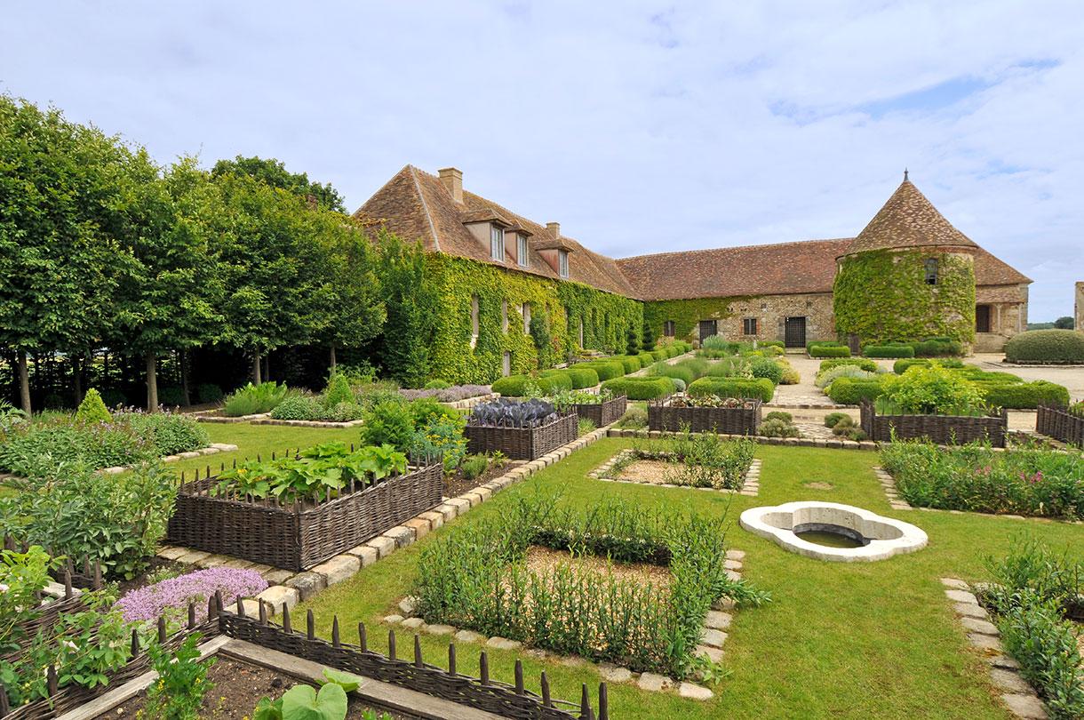 Jardin m di val 5 jardins du moyen ge voir en 2019 d tours en france - Les jardins de sophie xonrupt longemer ...