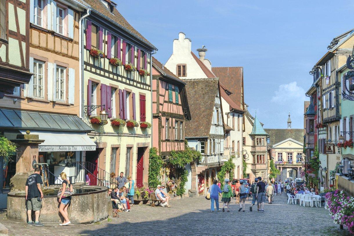 Alsace Circuit Touristique Sur La Route Des Vins