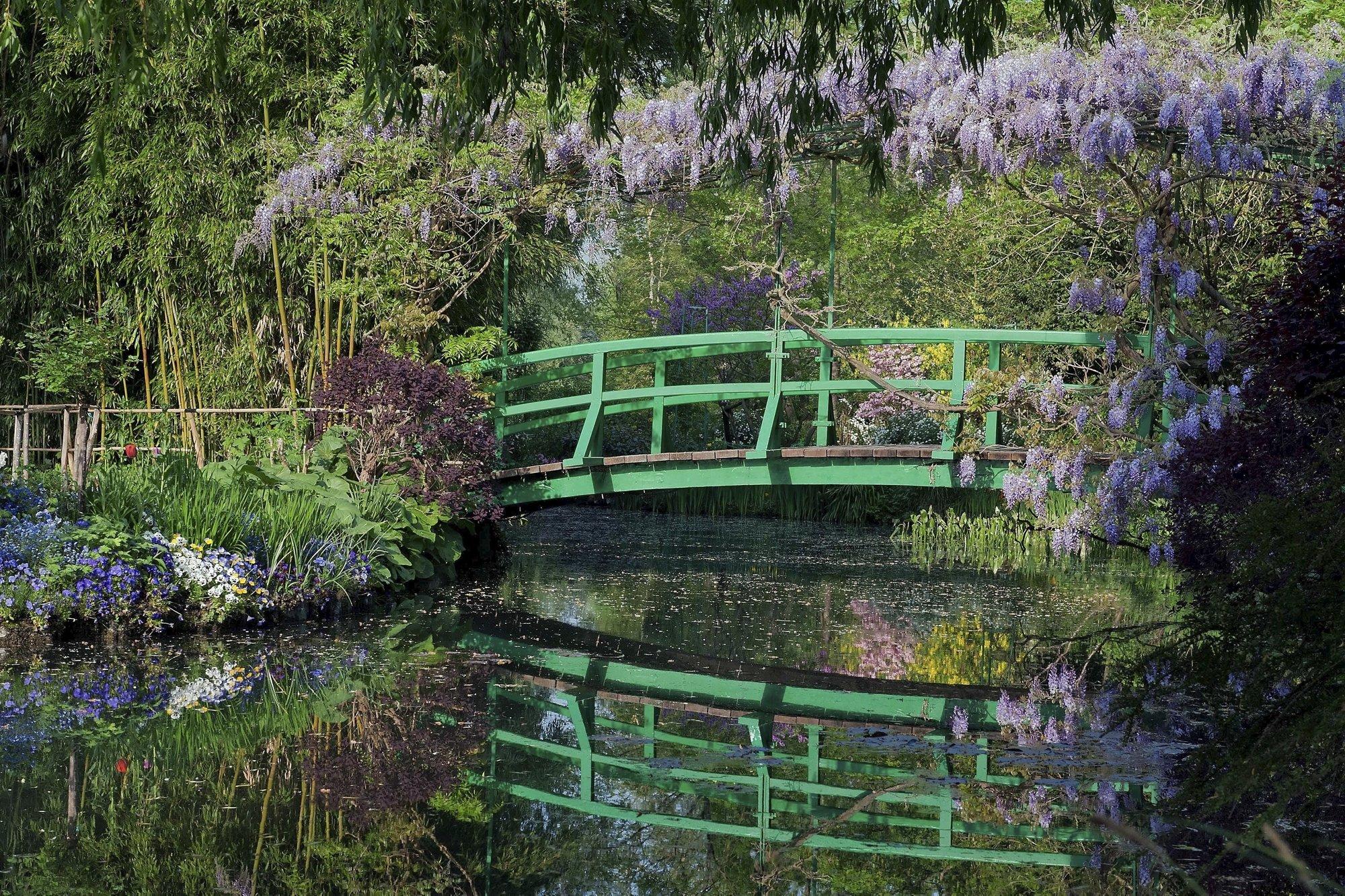 Giverny sur les pas de monet d tours en france for Image de jardin a imprimer