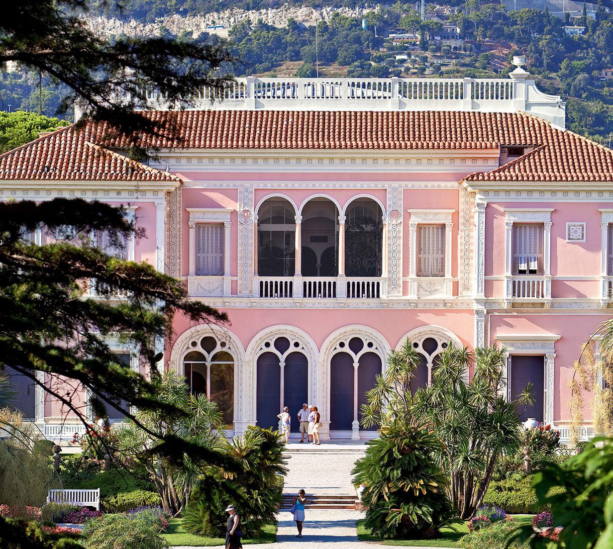 C te d 39 azur villa ephrussi de rothschild un joyau de la - Maison ephrussi de rothschild ...