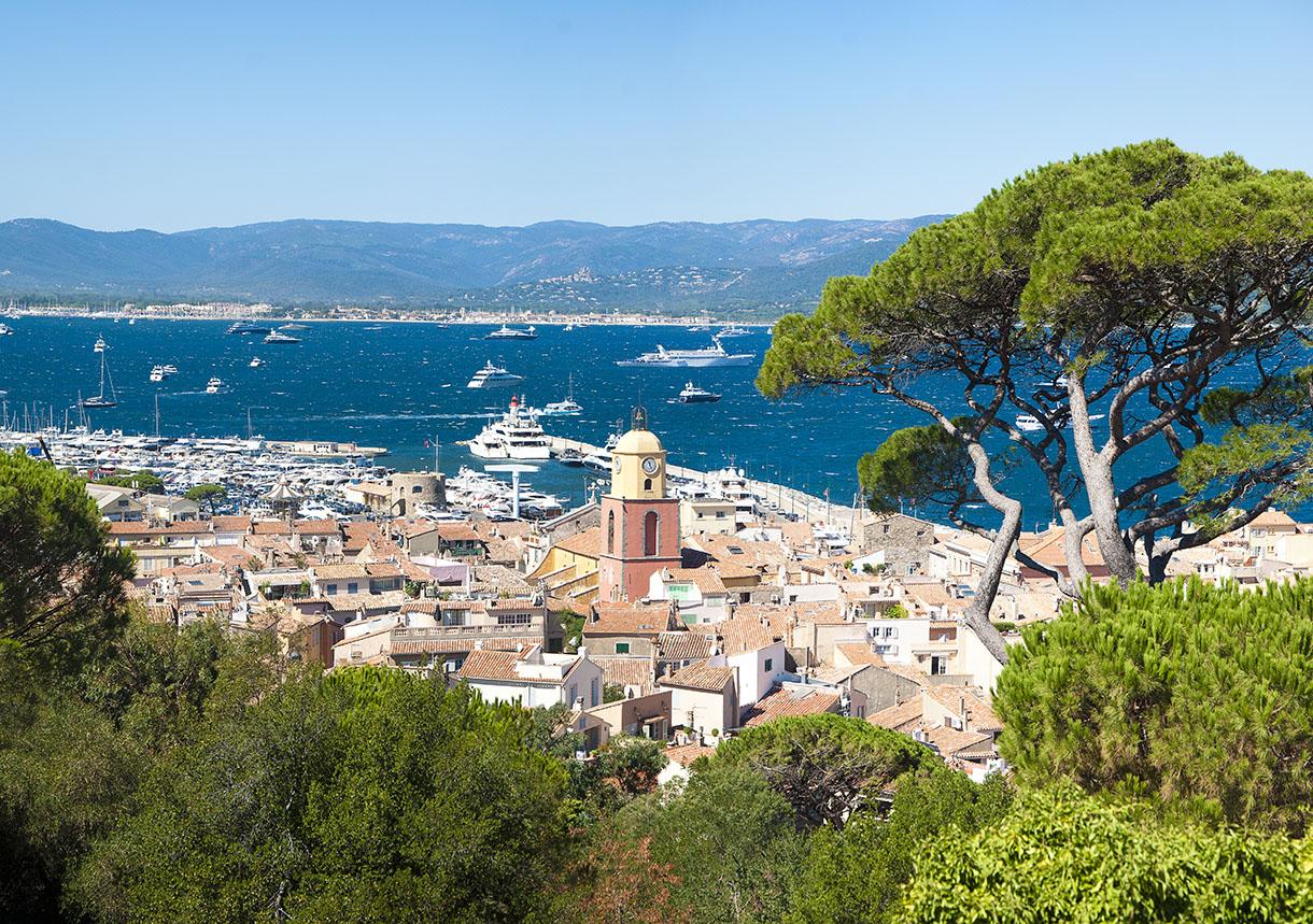 La Tour De La Baie St Tropez