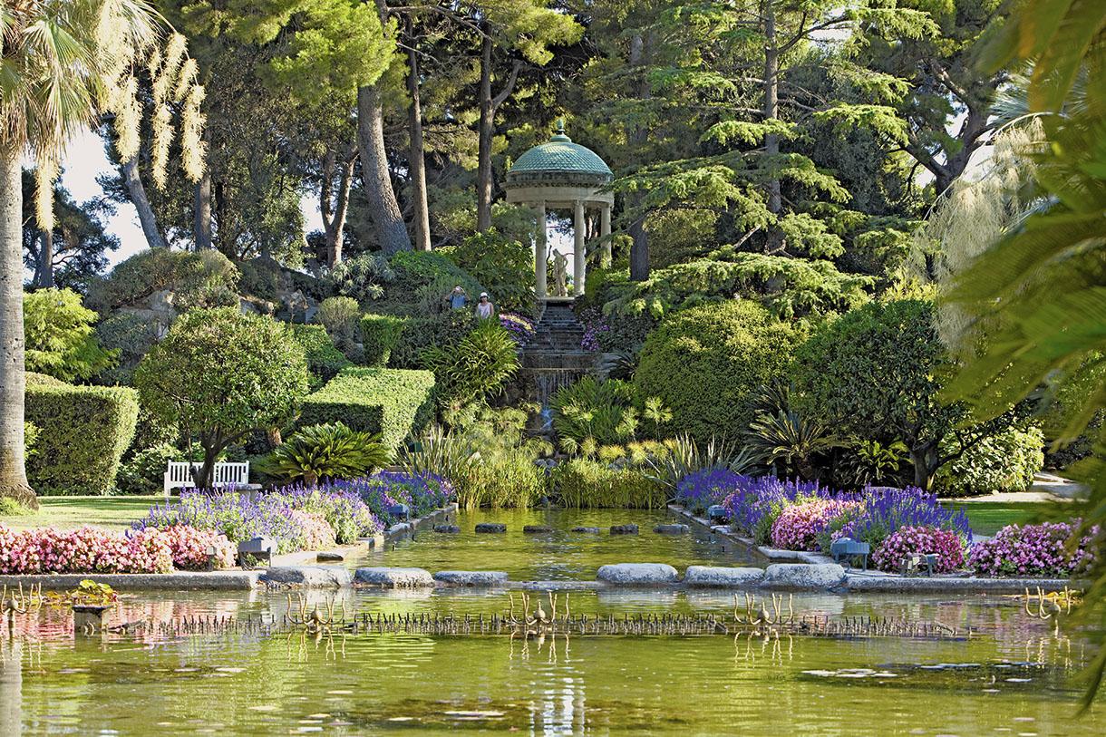 Riviera 3 balades de r ve sur le littoral d tours en for Circuit jardins anglais