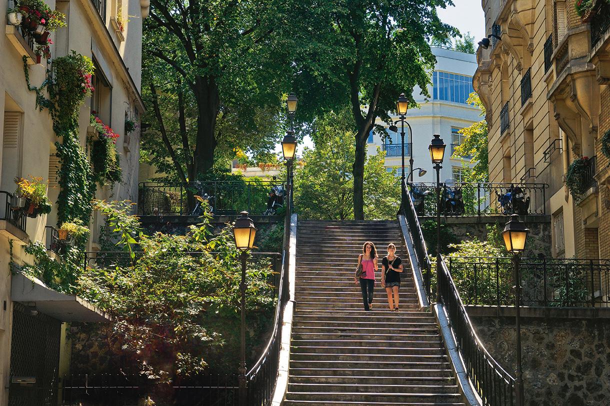 Balade à Montmartre - Détours en France