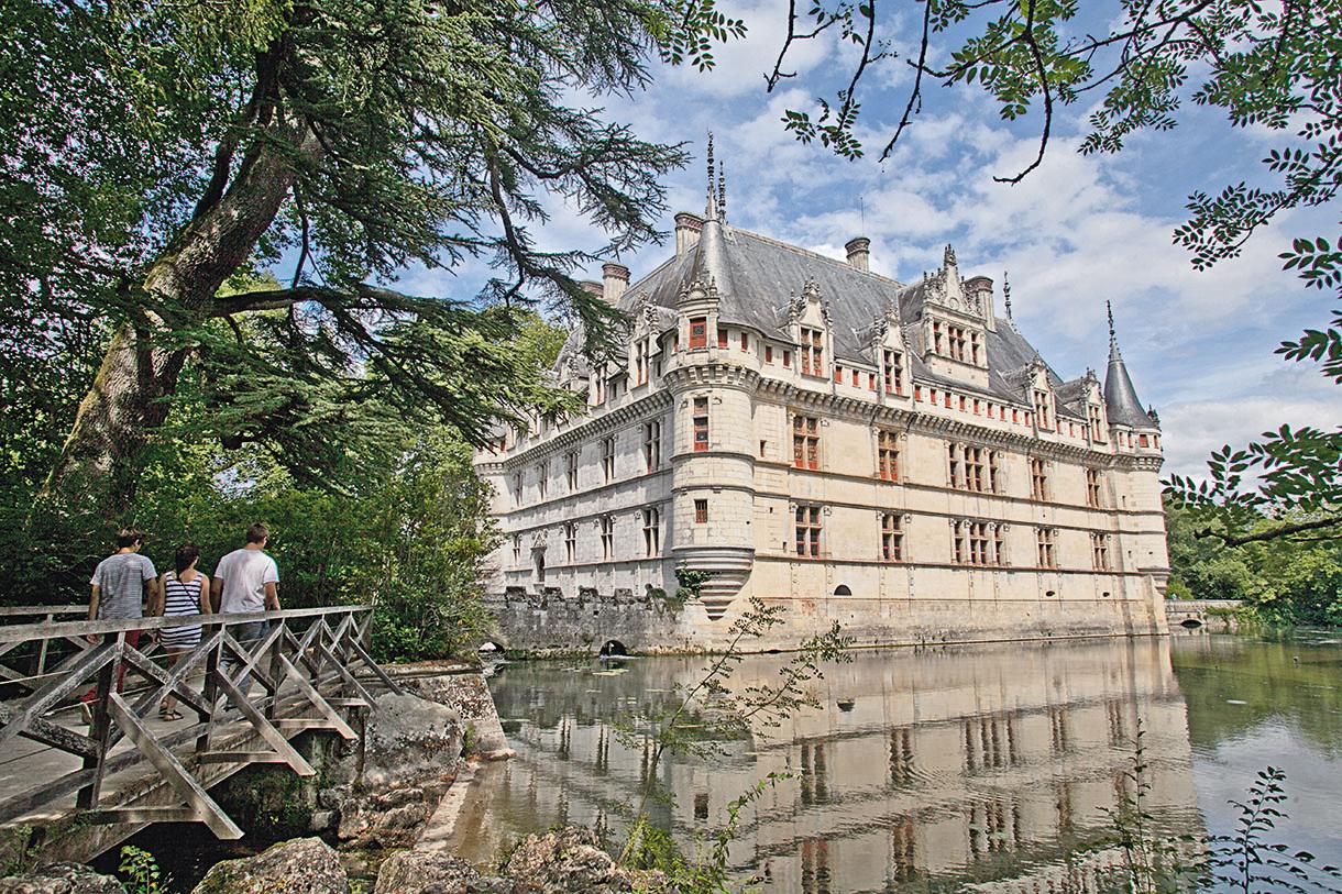 Ch teaux de la loire d couverte des plus beaux ch teaux - Les jardins renaissance azay le rideau ...