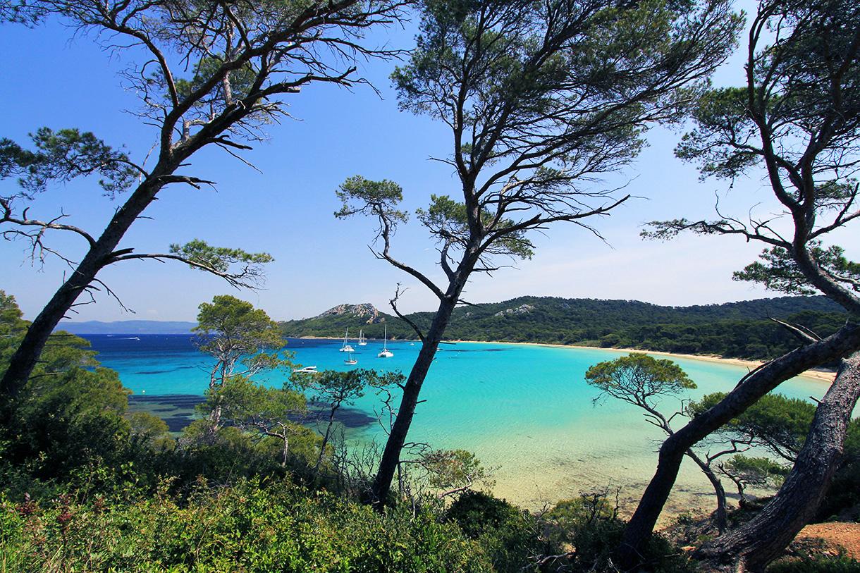 Les plus belles plages du var d tours en france - Office du tourisme ile de porquerolles ...