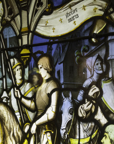 inauguration Jeanne d'Arc