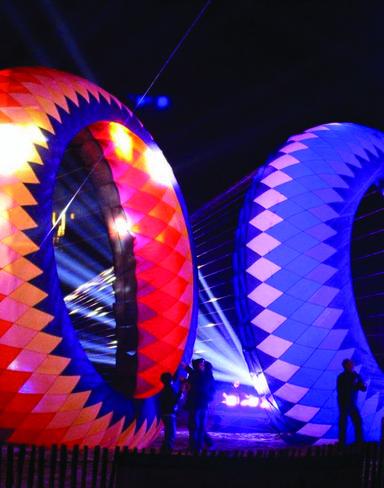 festival, cerfs, volants