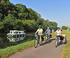La Vélodyssée, le long du canal de Nantes (Loire-Atlantique)