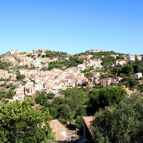 Corbara village