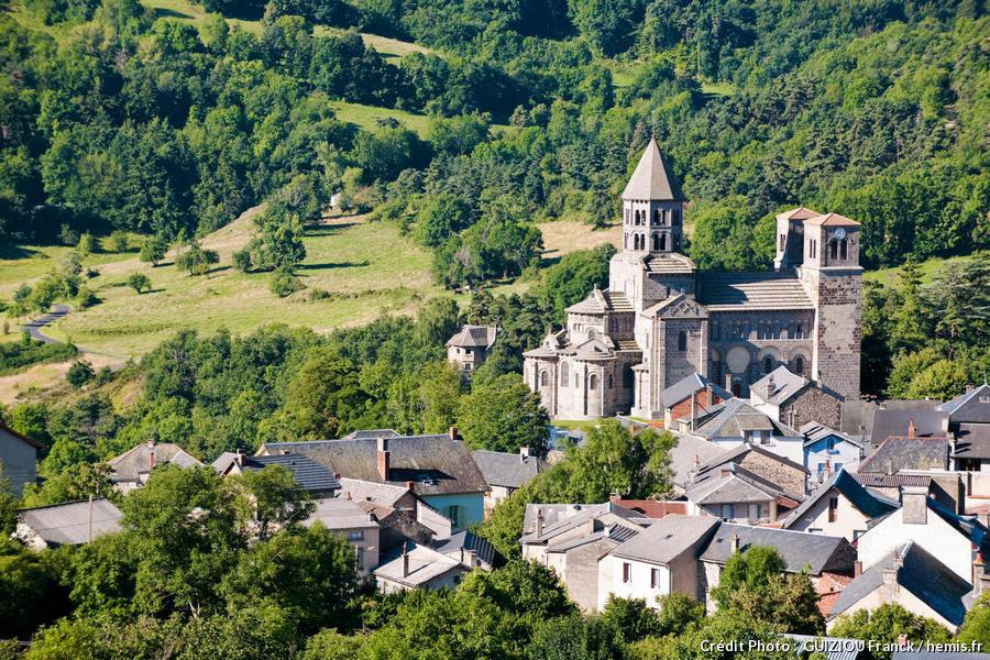 Le village de Saint-Nectaire, en Auvergne
