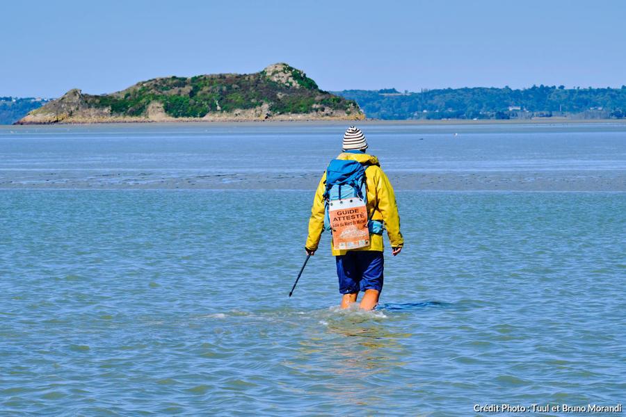 Jack Lecoq, guide attesté de la baie du Mont-Saint-Michel, Normandie