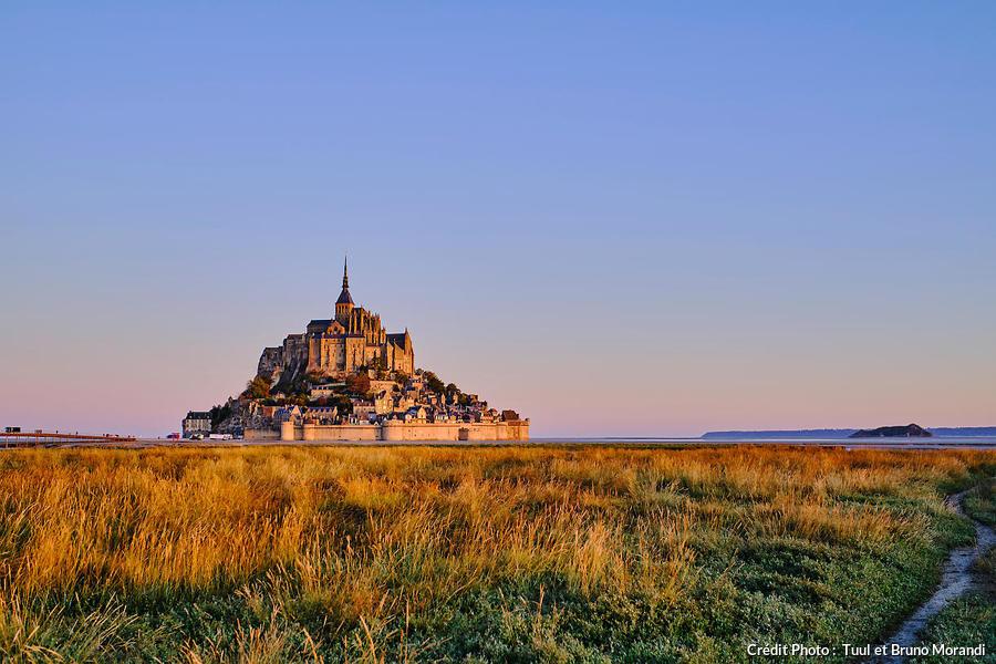 Herbus de la baie du Mont-Saint-Michel, Normandie