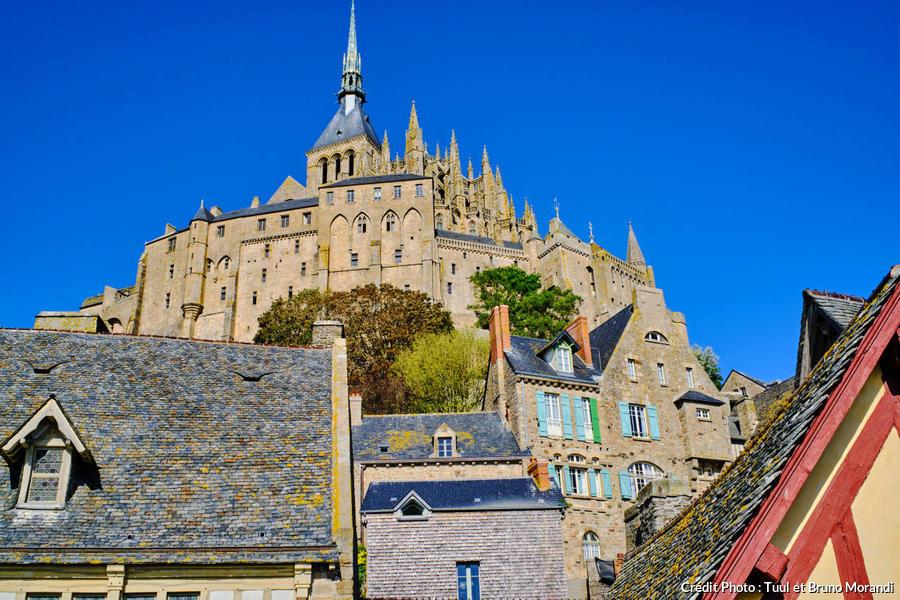 Abbaye du Mont Saint-Michel, Normandie