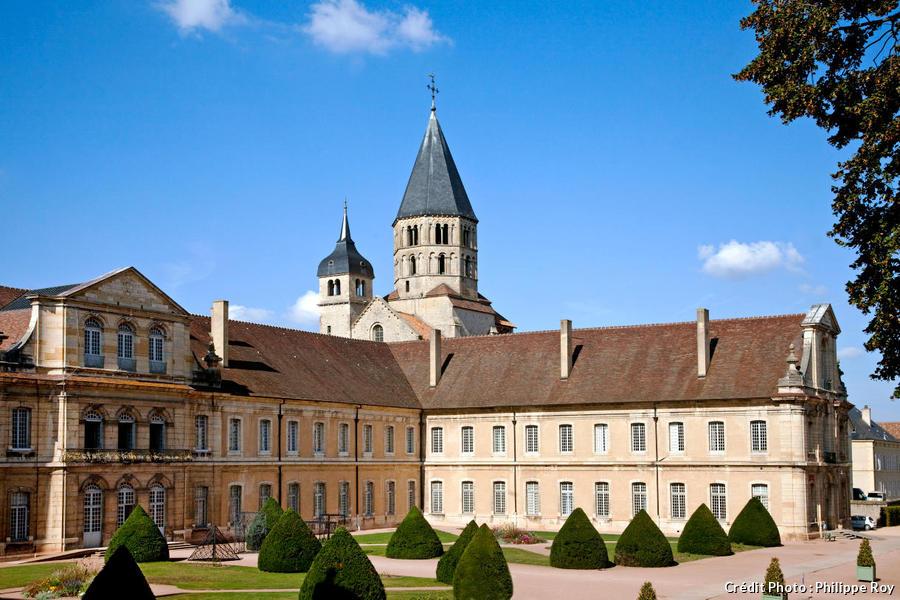 L'ancienne abbaye de Cluny, en Bourgogne