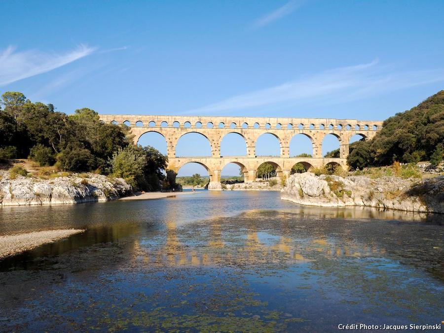 Le pont du Gard en Provence