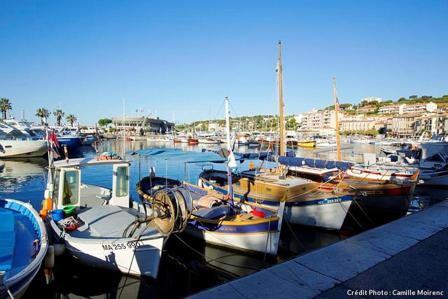 port de pêche de Cassis