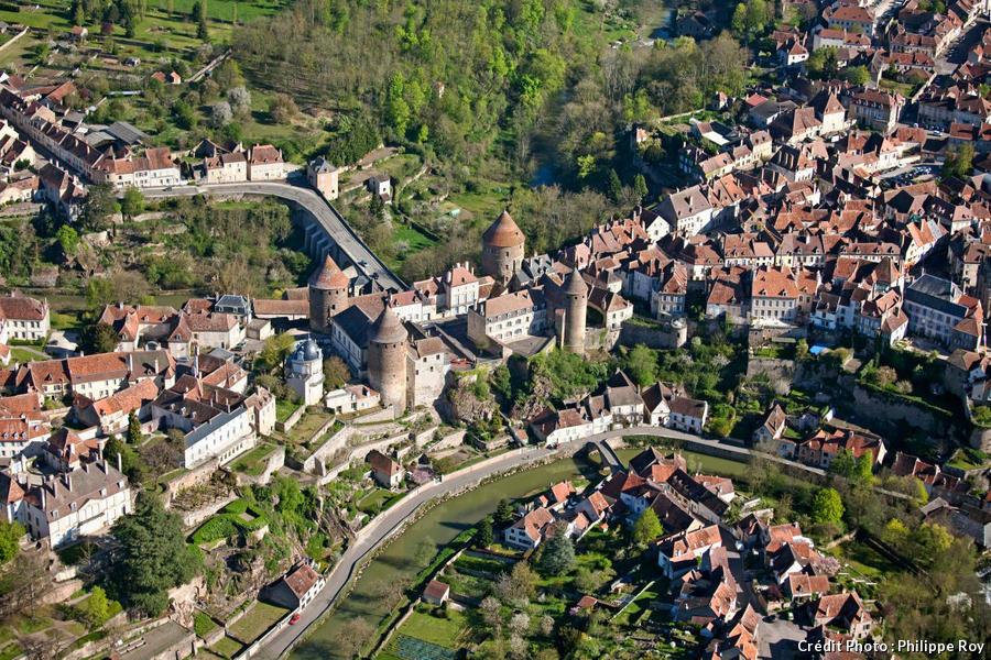 Semur-en-Auxois, en Bourgogne