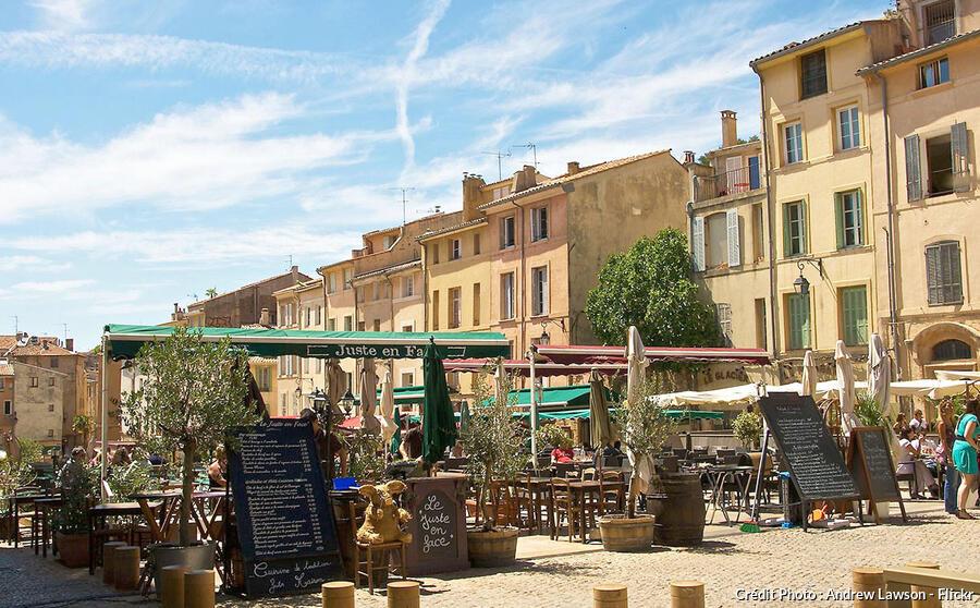 Place des Cardeurs, Aix-en-Provence
