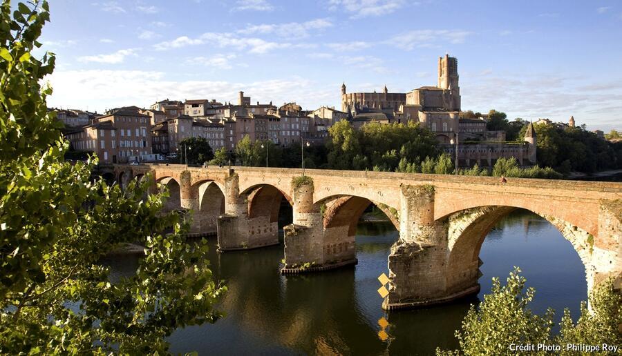 Pont-Vieux à Albi