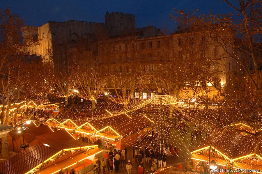 Le marché de Noël d'Avignon