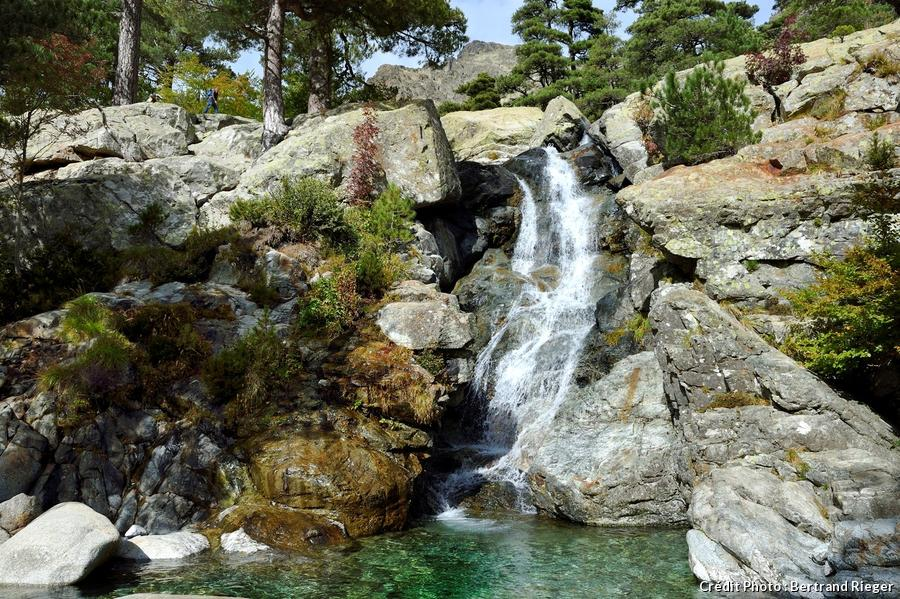 Les cascades de Vizzavona