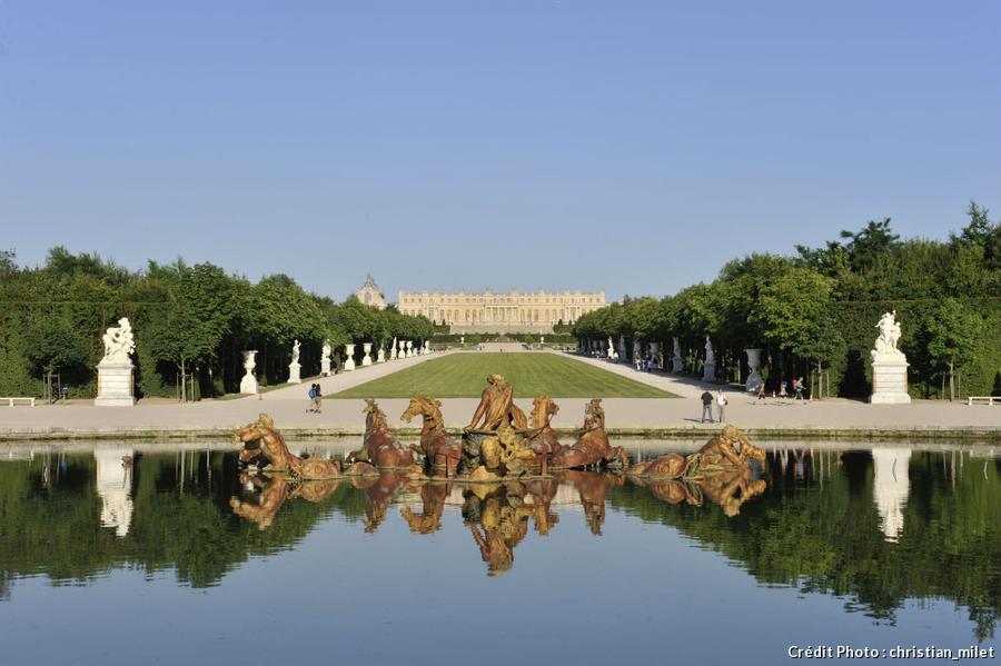 D couvrez le ch teau de versailles en courant d tours en france - Histoire des arts les jardins de versailles ...
