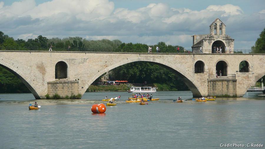 canoe-Rhône Avignon
