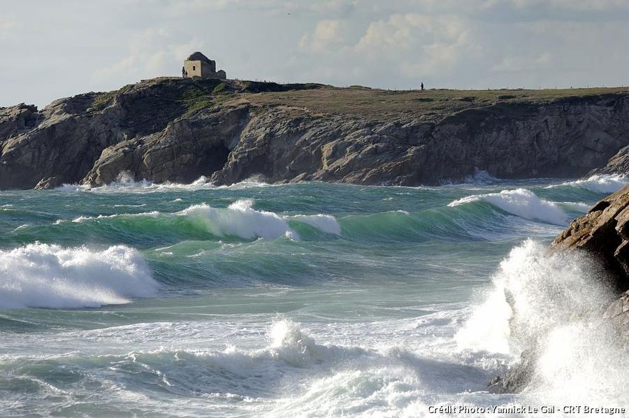 Vagues presqu'île de Quiberon