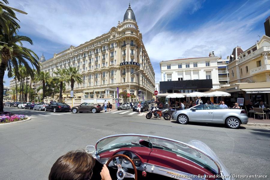 Le Carlton sur le boulevard de la Croisette à Cannes