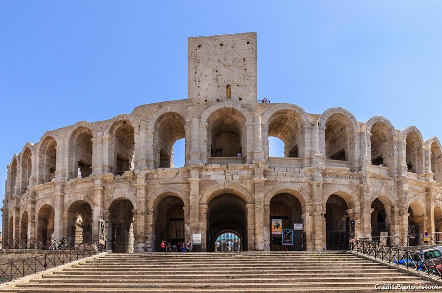 Les arènes d'Arles