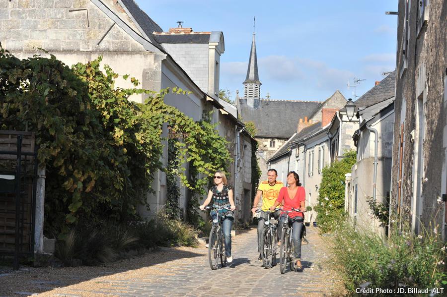Vélos à Béhuard