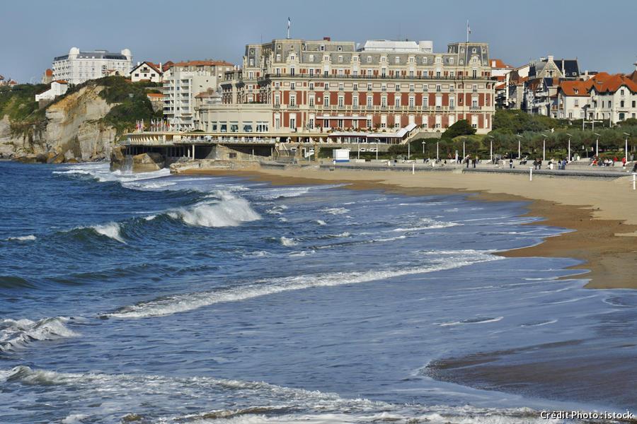 hotel du Palais à Biarritz
