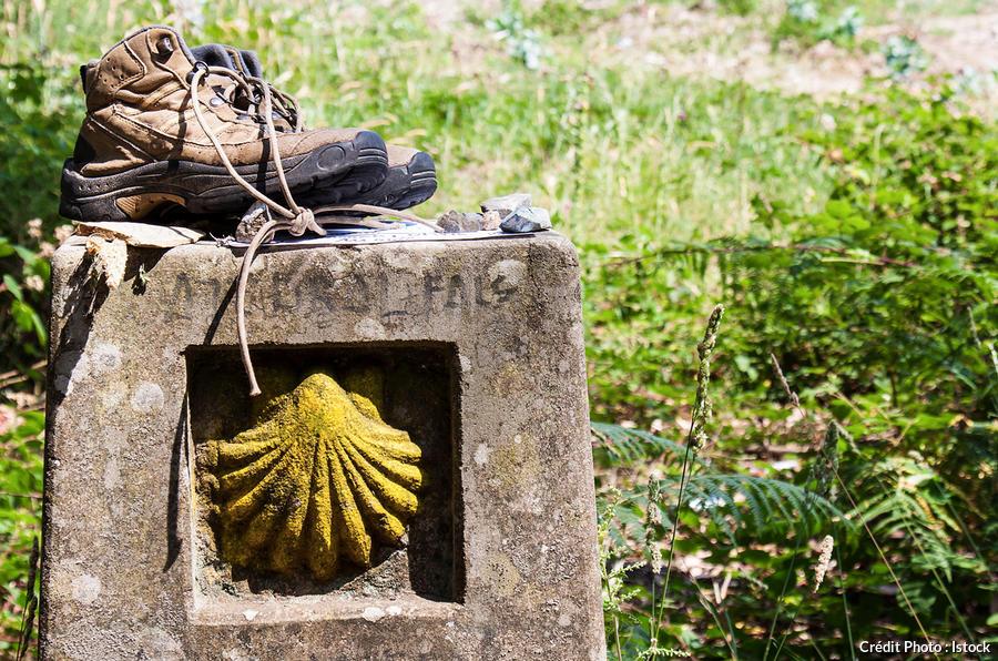 La coquille, symbole de Saint-Jacques de Compostelle