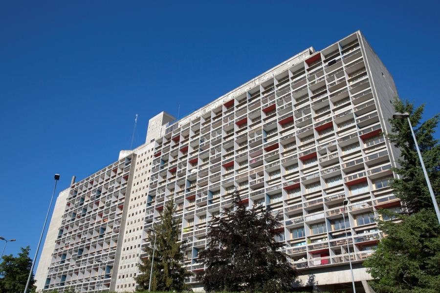 unité d'habitation Le Corbusieur Firminy
