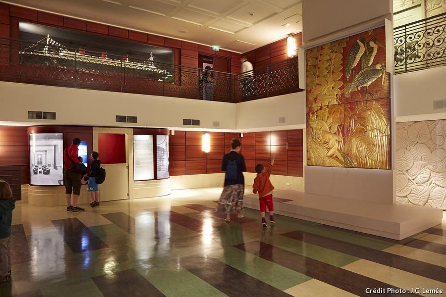 escal'atlantique saint-nazaire hall d'embarquement