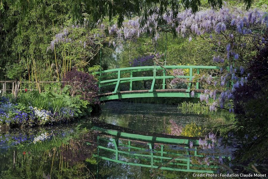 jardin japonais Claude Monet