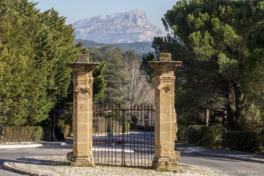 vue sur la montagne Sainte-Victoire