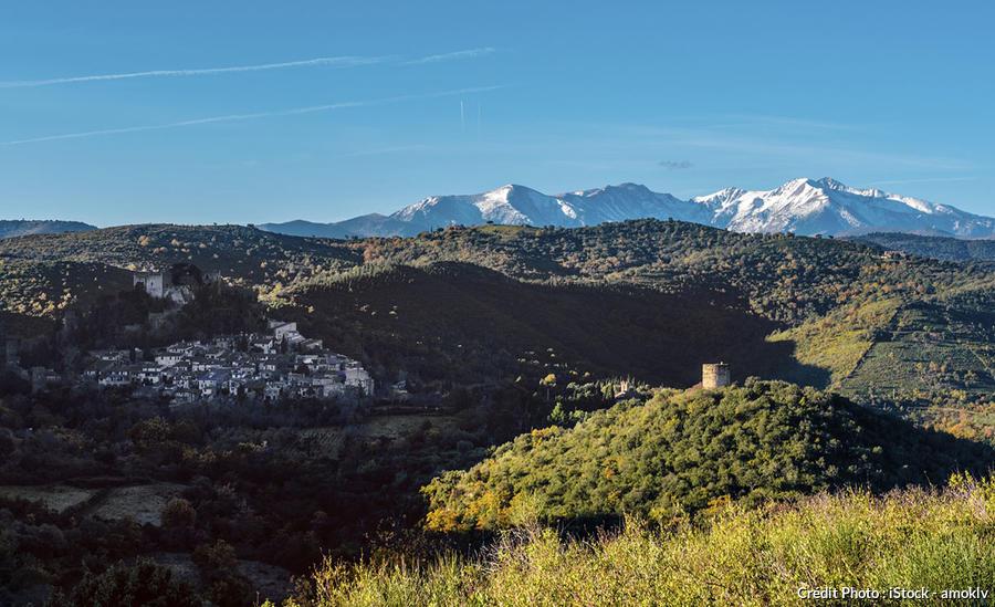 Panorama Aspres et Castelnou