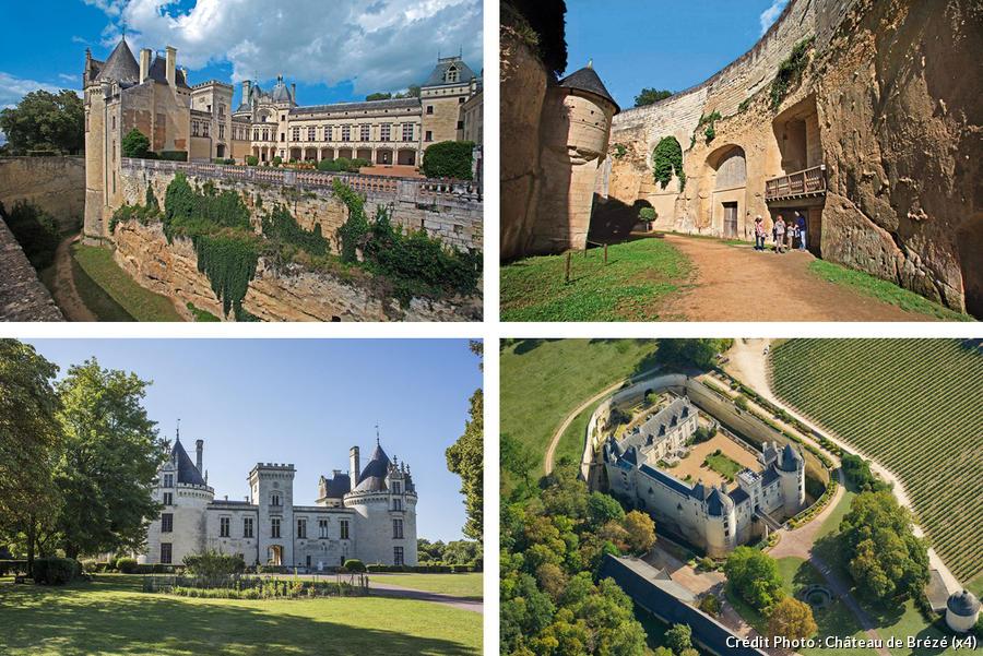 Vues du château