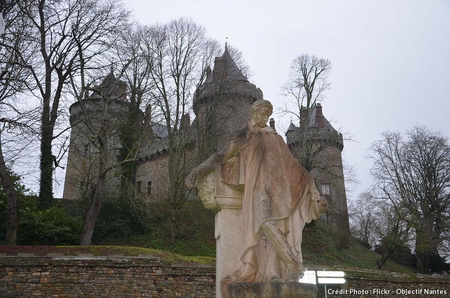 Statue du château