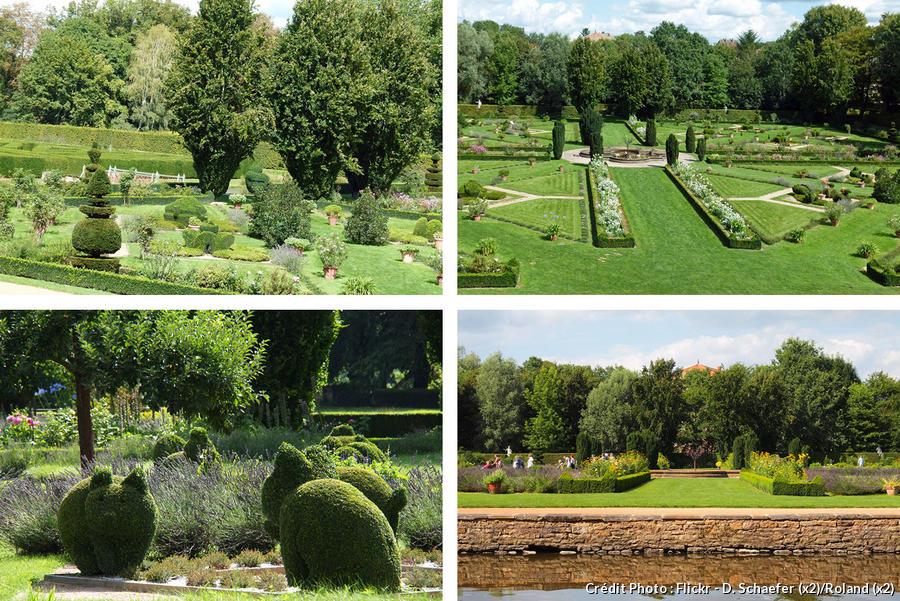 Jardins du château de Cormatin