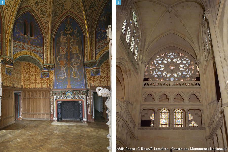 Intérieur et chapelle
