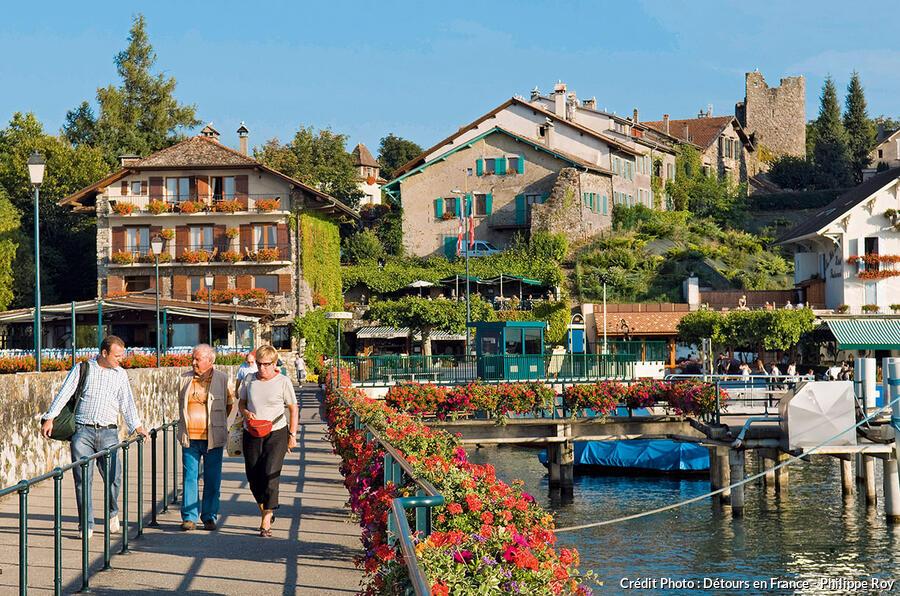 Hotel Restaurant Le Port Yvoire En Savoie