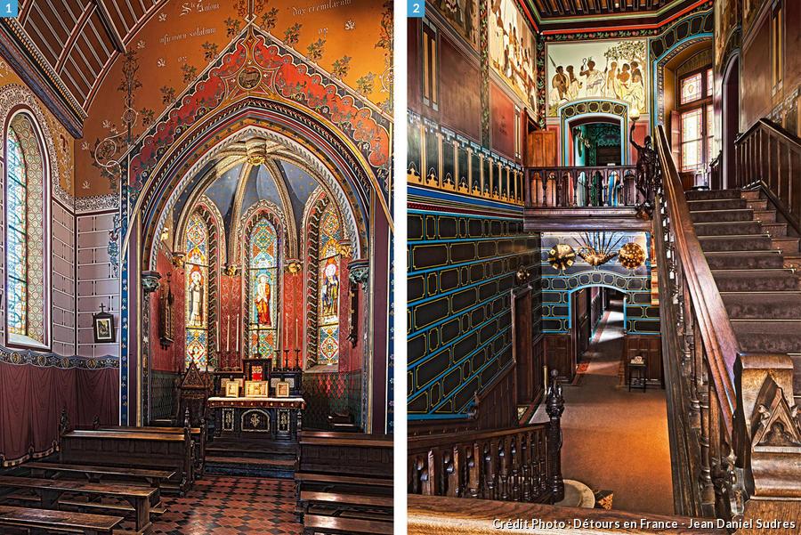 Chapelle et vestibule