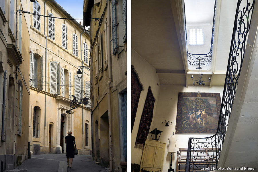 Plafond Hotel De Ville Arles