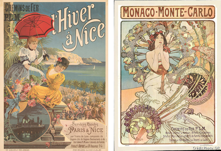 Affiche Nice Monaco