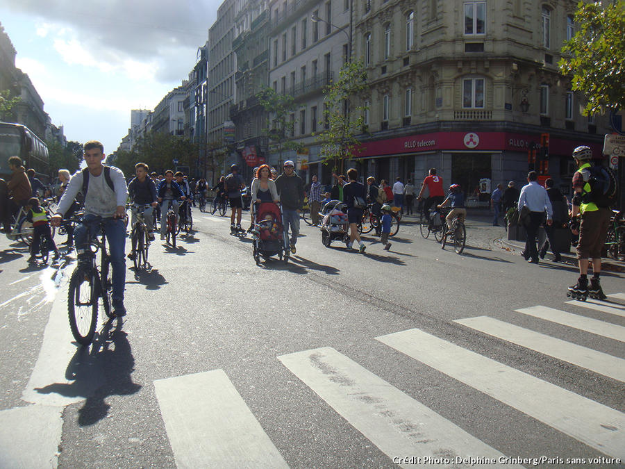 Journée sans voiture à Bruxelles