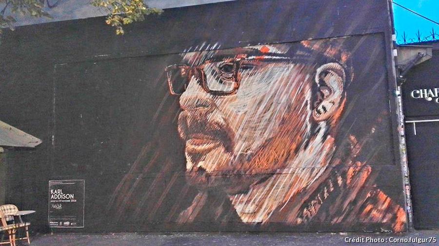 Mur Oberkampf - street art à Paris