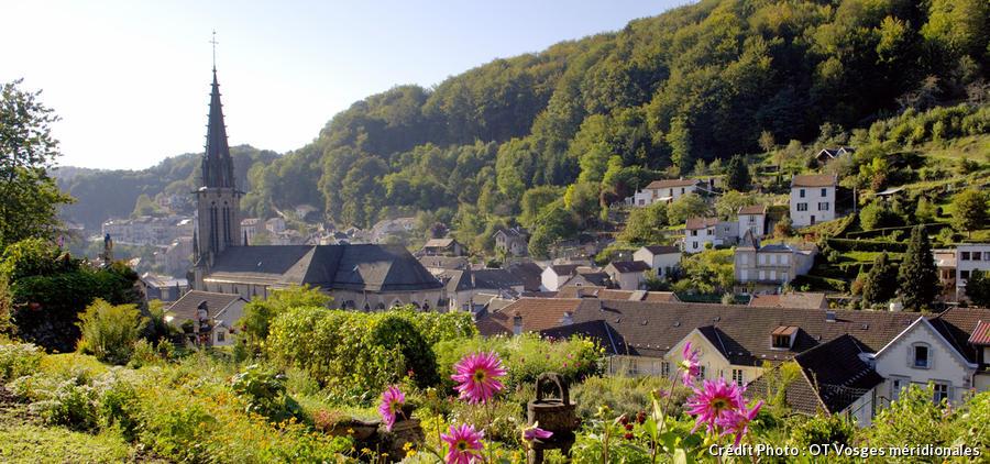Panorama de Plombières-les-Bains