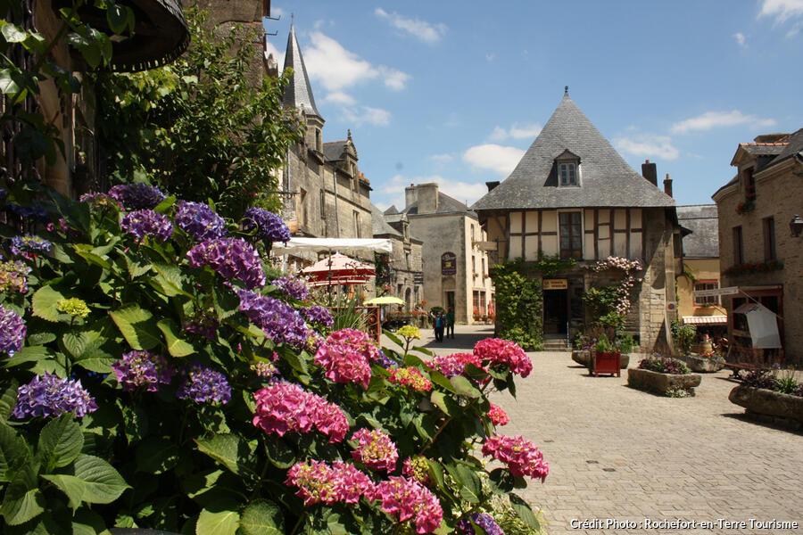 Rochefort en terre village fleuri de bretagne - Office du tourisme rochefort en terre ...